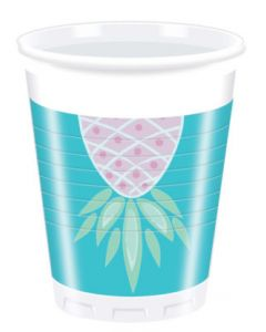 Pineapple Plastic Cups