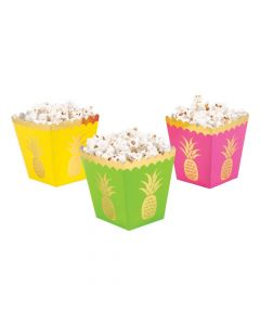 Pineapple Popcorn Boxes
