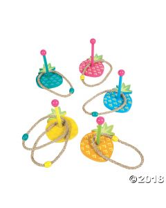 Pineapple Ring Toss Game