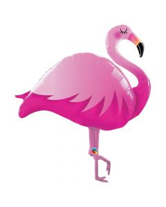Pink Flamingo Mylar Balloon