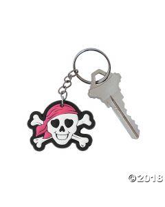 Pink Pirate Keychains