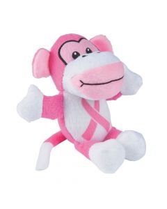 Pink Ribbon Awareness Stuffed Monkeys