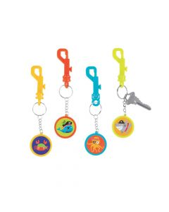 Pirate Animal Backpack Clip Keychains
