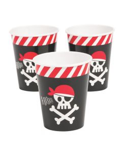 Pirate Animal Paper Cups