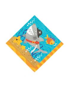 Pirate Animals Luncheon Napkins