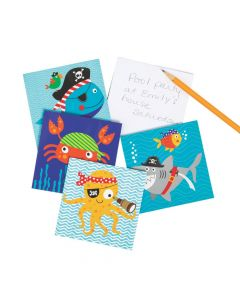 Pirate Animals Notepads