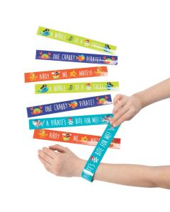 Pirate Animals Slap Bracelets