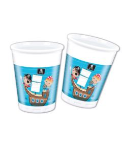 Pirate Treasure Hunt Plastic Cups