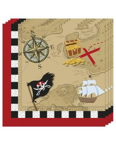 Pirate Treasure Map 2ply Paper Napkin