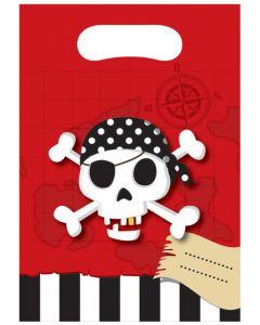 Pirate Treasure Map Party Bags