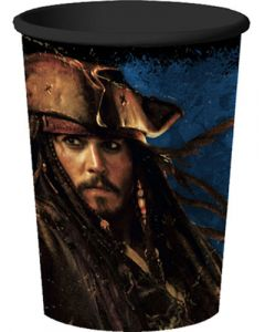 Pirates of the Carribean Plastic Cup