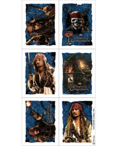 Pirates of the Carribean Stickers