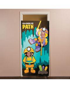 Plastic Cave Explorer Photo Door Banner