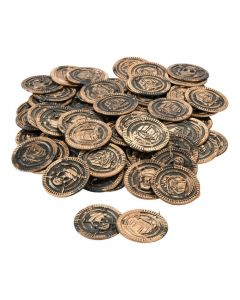 Plastic Pirate Coins