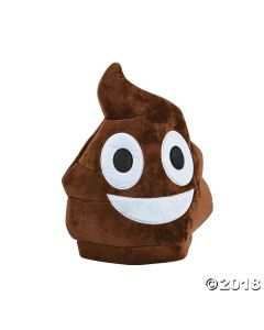 Plush Childs Poop Emoji Hat