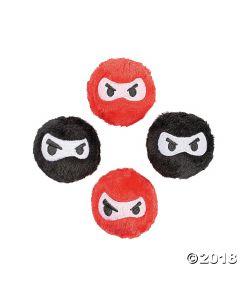 Plush Ninja Bounce Balls