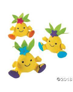 Plush Pineapple Characters