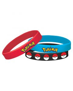 Pokemon Rubber Bracelet
