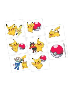 Pokemon Tattoo Favours