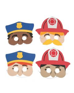 Police and Fire Fighter Masks