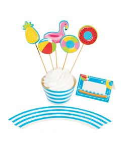 Pool Party Dessert Decorating Kit