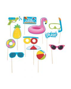 Pool Party Photo Booth Props