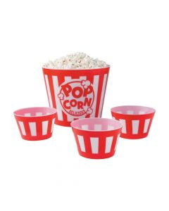 Popcorn Bowl Set