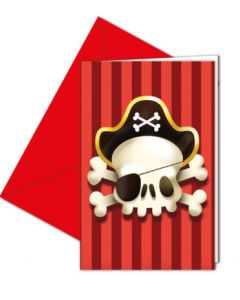 Powerful Pirates Invitations & Envelopes