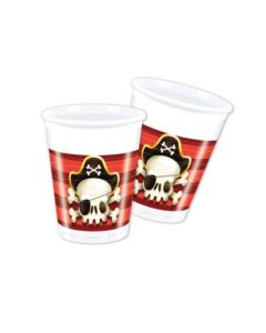 Powerful Pirates Plastic Cups