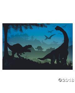 Prehistoric Dinosaur Backdrop
