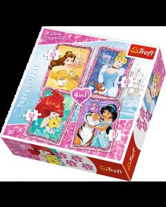 Princess 4 in 1 Puzzle