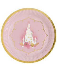 Princess for a Day Paper Plates