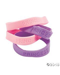Princess Rubber Bracelets