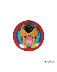 Puppy Party Paper Dessert Plates