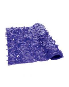 Purple Floral Sheeting Backdrop