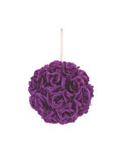 Purple Kissing Ball
