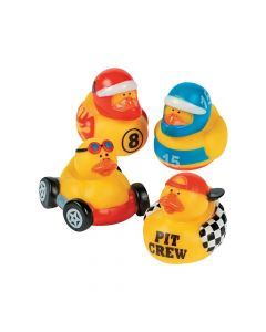 Race Car Driver Rubber Duckies