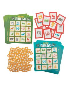 Railroad VBS Bingo Game