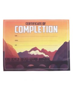 Railroad VBS Certificates of Completion