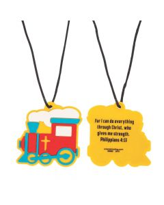 Railroad VBS Charm Necklaces