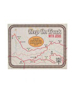 Railroad VBS Map Handout Sheets