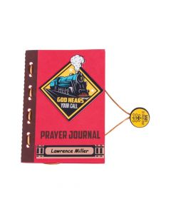 Railroad VBS Prayer Journal Craft Kit