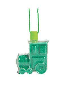 Railroad VBS Sand Art Bottle Necklaces