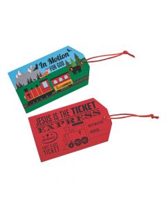 Railroad VBS Scratch 'N Reveal Tickets