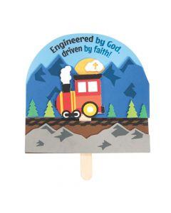 Railroad VBS Train Pop-Up Craft Kit