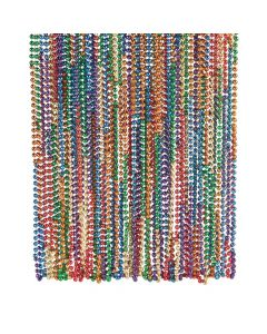 Rainbow Mardi Gras Beads