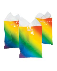 Rainbow Ombre Goody Bags