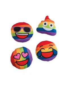 Rainbow Plush Emojis