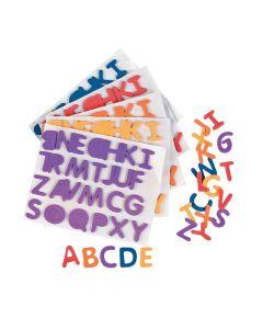Rainbow Self-Adhesive Letters