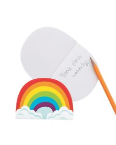Rainbow-Shaped Notepads